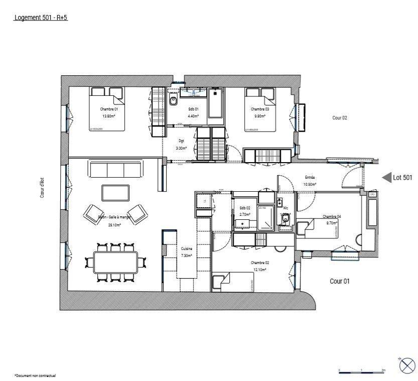 Paris  - Apartment 4 Bedrooms - picture 3