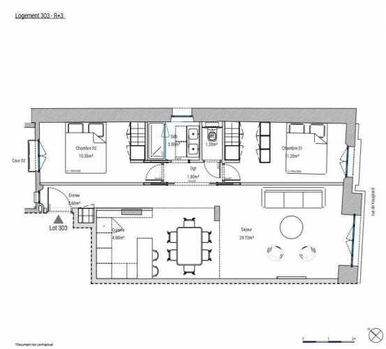Appartement Paris 75015  -  ref 3383190 (picture 2)