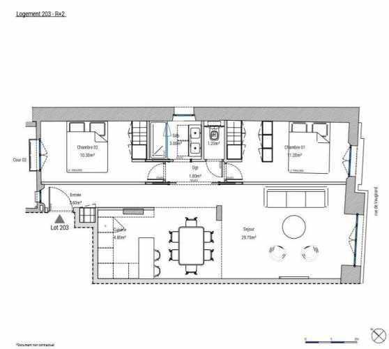 Appartement Paris 75015  -  ref 3394400 (picture 2)